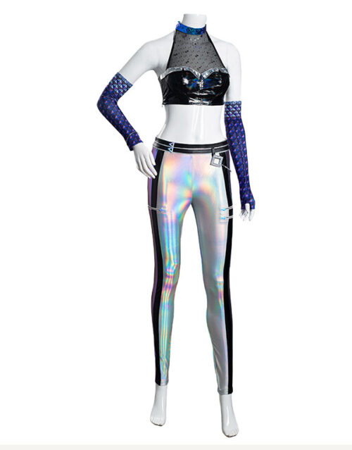 KDA ALL OUT Kai'Sa Cosplay Costume Product Etails (7)