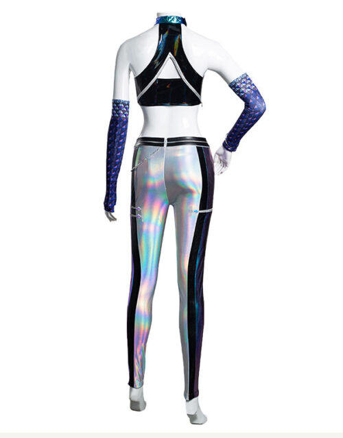 KDA ALL OUT Kai'Sa Cosplay Costume Product Etails (9)