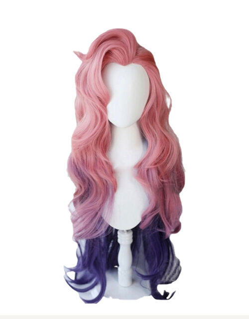 KDA ALL OUT Seraphine Rising Star Cosplay Costume Product Etails (5)