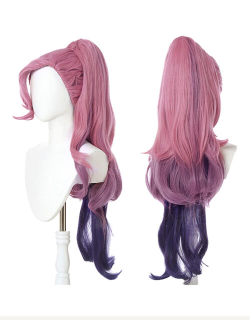 KDA ALL OUT Seraphine Rising Star Cosplay Costume Product Etails (6)