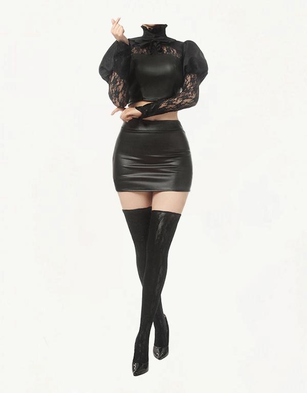 KDA Baddest Ahri Cosplay Costume (5)
