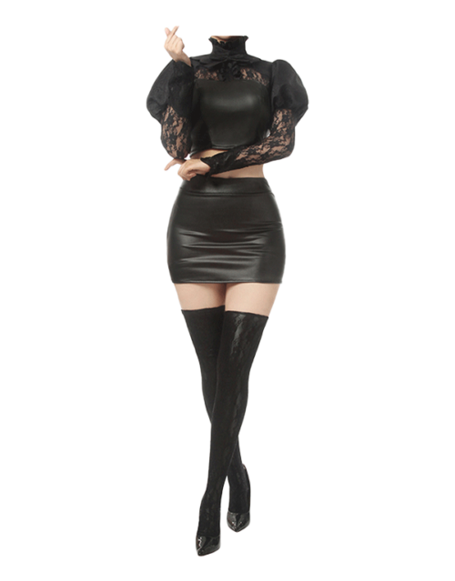 KDA Baddest Ahri Cosplay Costume Product Etails (7)