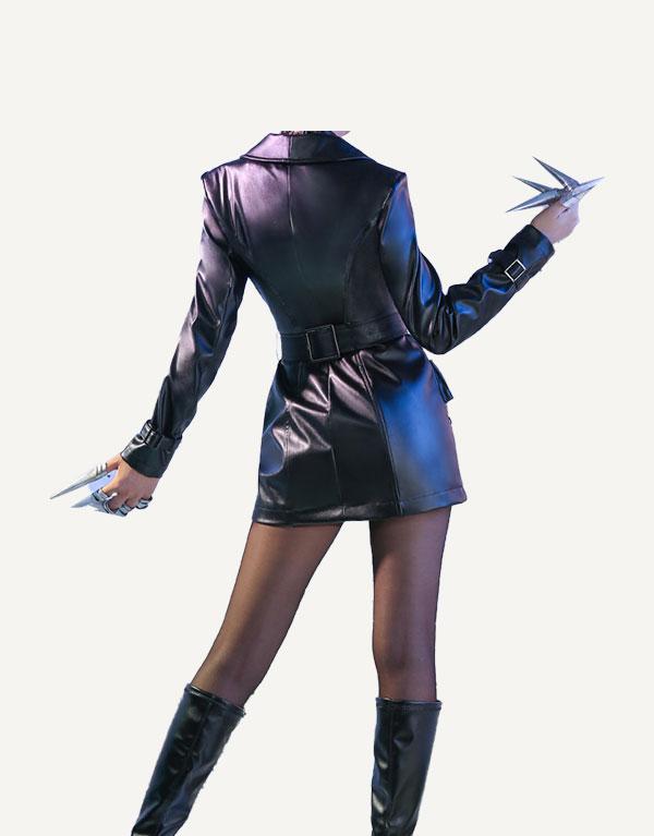 KDA Baddest Evelynn Cosplay Costume (1)