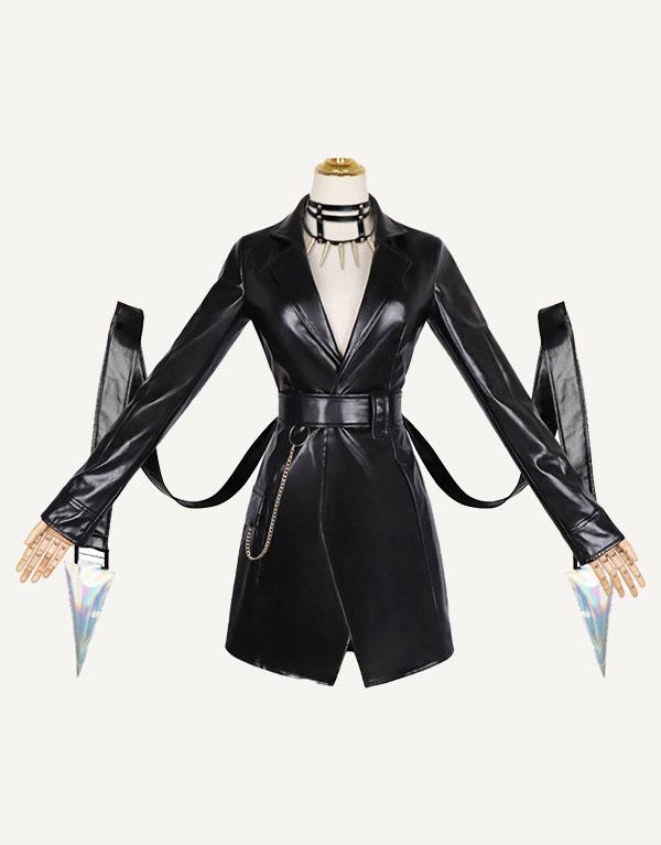 KDA Baddest Evelynn Cosplay Costume (3)