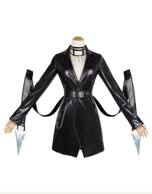 KDA Baddest Evelynn Cosplay Costume Product Etails (11)