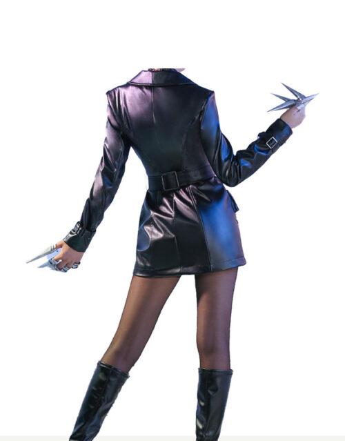 KDA Baddest Evelynn Cosplay Costume Product Etails (12)