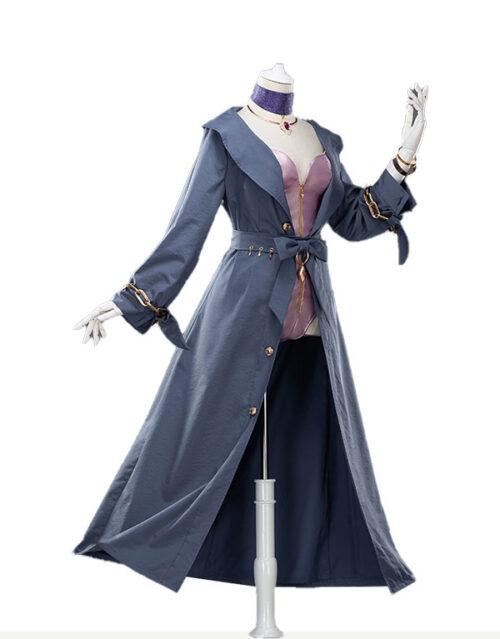 KDA Evelynn Halloween Cosplay Costume Product Etails (9)