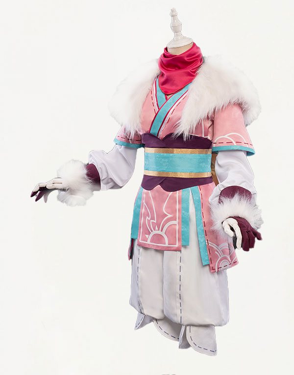 Kindred Spirit Blossom Cosplay Costume (3)