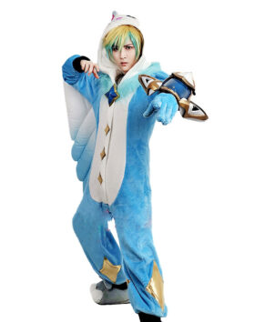Pajama Guardian Ezreal Cosplay Cotume (4)