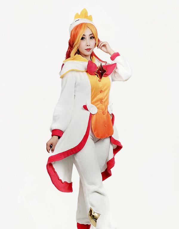 Pajama Guardian Miss Fortune Cosplay Costume (2)