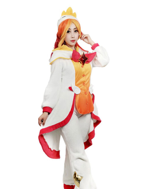 Pajama Guardian Miss Fortune Cosplay Costume Product Etails (2)