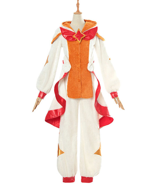 Pajama Guardian Miss Fortune Cosplay Costume Product Etails (3)