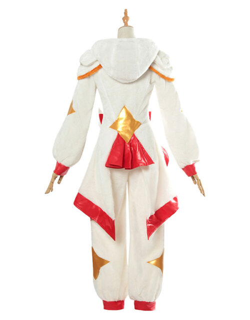 Pajama Guardian Miss Fortune Cosplay Costume Product Etails (4)