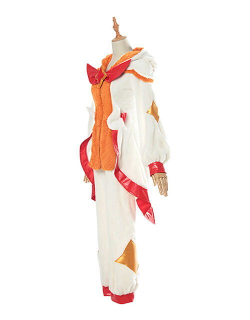 Pajama Guardian Miss Fortune Cosplay Costume Product Etails (5)