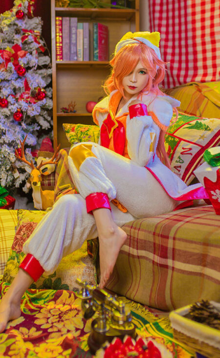Pajama Guardian Miss Fortune Cosplay Costume Product Etails (7)