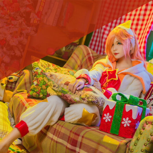 Pajama Guardian Miss Fortune Cosplay Costume Product Etails (8)