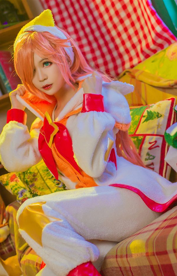 Pajama Guardian Miss Fortune Cosplay Costume Product Etails (9)