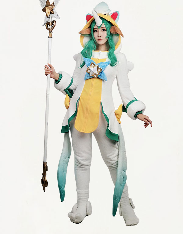 Pajama Guardian Soraka Cosplay Costume (1)