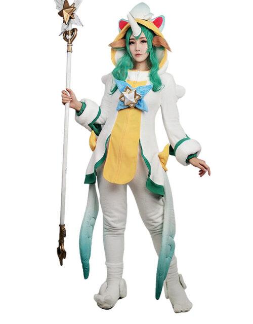 Pajama Guardian Soraka Cosplay Costume Product Etails (2)