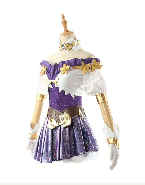 Seraphine Cosplay Costume Product Etails (2)
