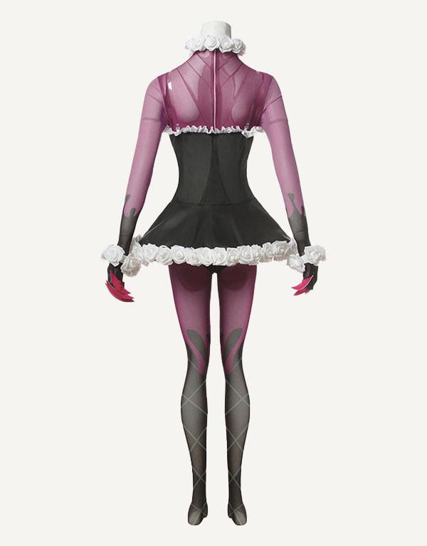 Sugar Rush Evelynn Cosplay Costume (1)
