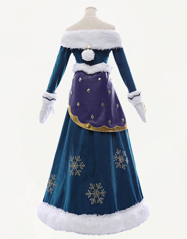 Winter Wonder Soraka Cosplay Costume (4)