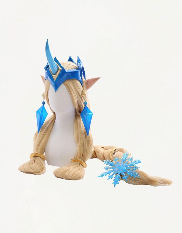 Winter Wonder Soraka Cosplay Costume (5)