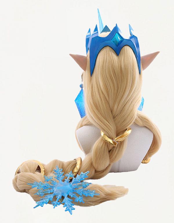 Winter Wonder Soraka Cosplay Costume (6)