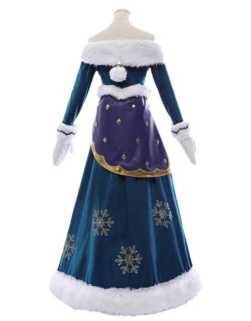 Winter Wonder Soraka Cosplay Costume Product Etails (3)