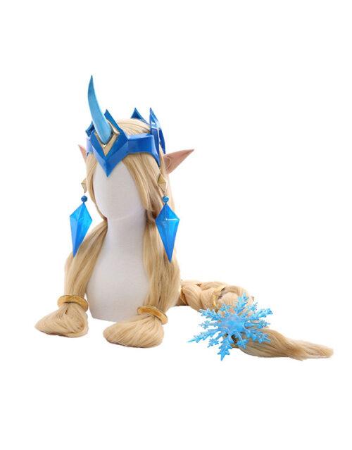 Winter Wonder Soraka Cosplay Costume Product Etails (4)