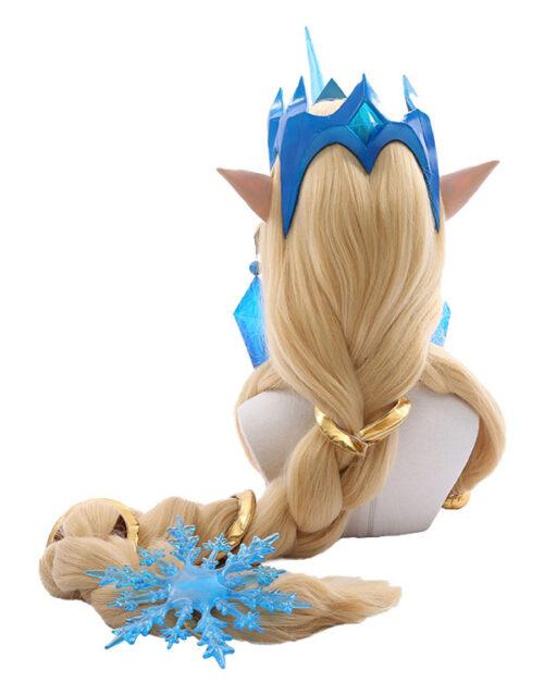 Winter Wonder Soraka Cosplay Costume Product Etails (5)